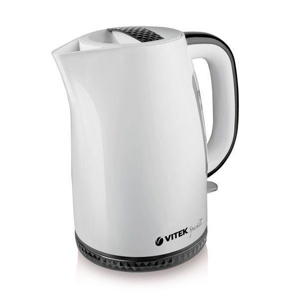 Чайник электрический VITEK VT-1175-01, 2200Вт, белый