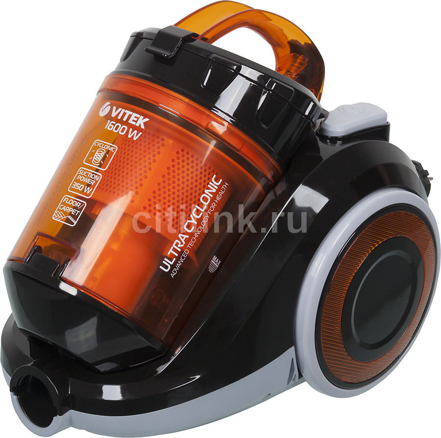 Пылесос VITEK VT-1820 OG, 1600Вт, оранжевый