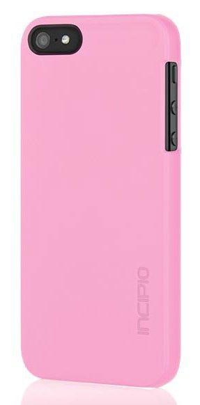 Чехол (клип-кейс) INCIPIO feather (IPH-1117-PNK), для Apple iPhone 5s, розовый