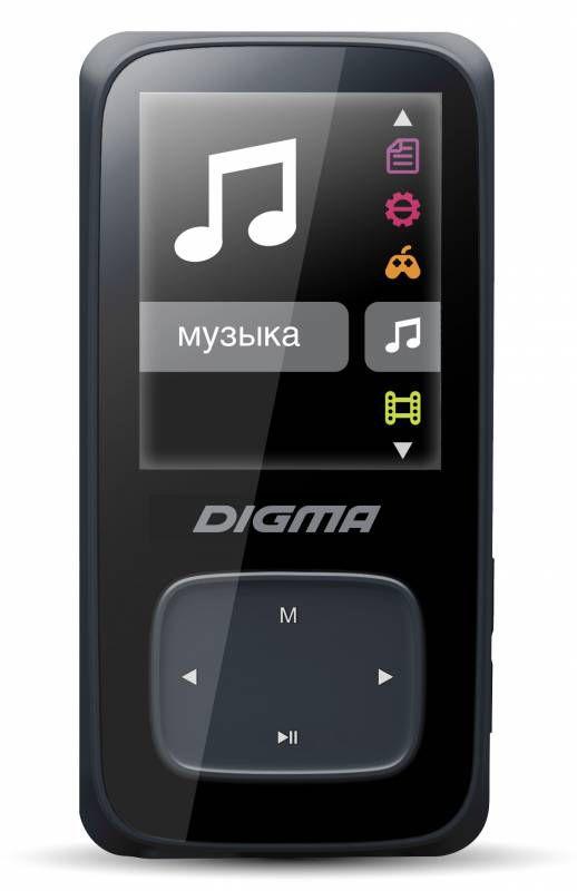 MP3 плеер DIGMA Cyber 2 flash 4Гб черный