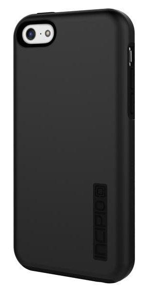 Чехол (клип-кейс) INCIPIO DualPro (IPH-1145-BLK), для Apple iPhone 5c, черный