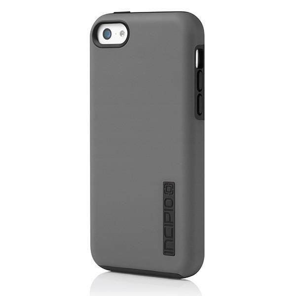 Чехол (клип-кейс) INCIPIO DualPro, для Apple iPhone 5c, серый [iph-1145-gry]