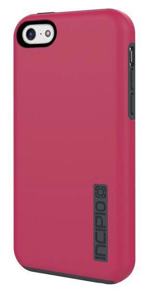 Чехол (клип-кейс) INCIPIO DualPro (IPH-1145-PNK), для Apple iPhone 5c, розовый