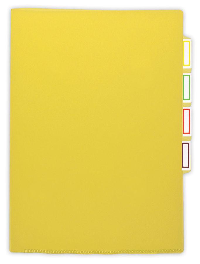 Папка-уголок Бюрократ -E356GRN 3 уровн. A4 пластик 0.15мм зеленый