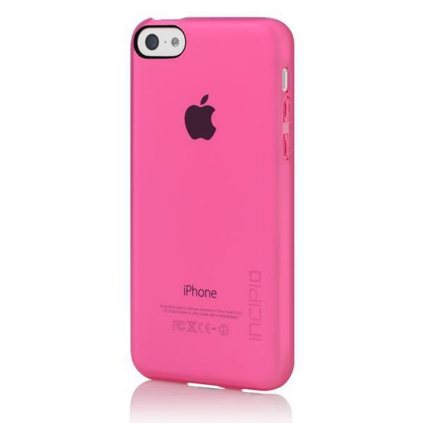 Чехол (клип-кейс) INCIPIO Feather Clear, для Apple iPhone 5c, розовый [iph-1142-pnk]