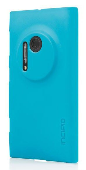 Чехол (клип-кейс) INCIPIO Feather (NK-175-CYN), для Nokia Lumia 1020, голубой