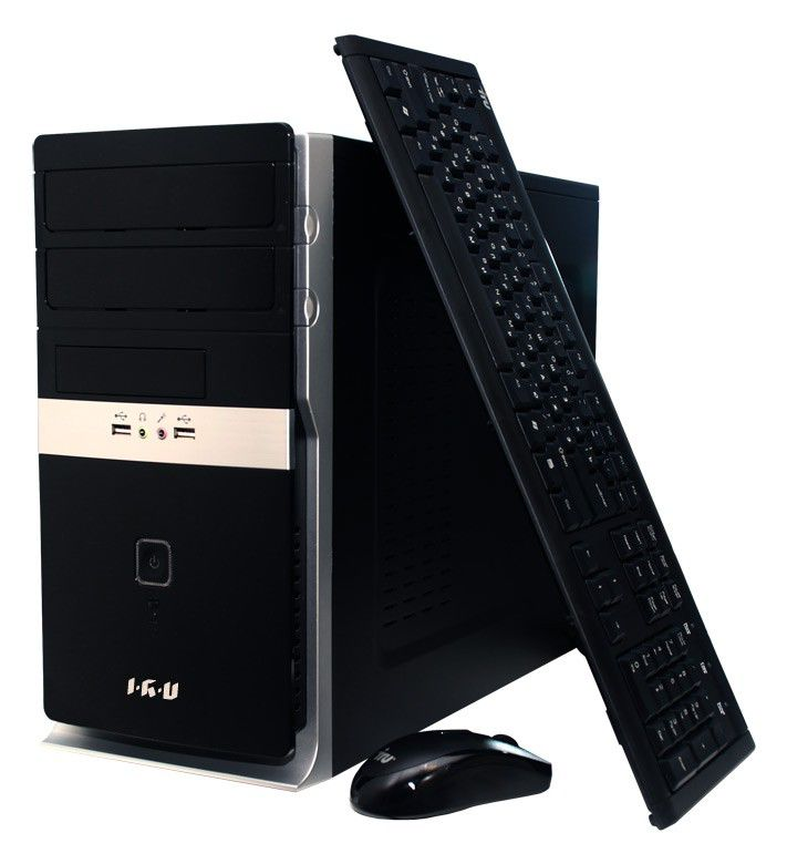 Компьютер  IRU Corp 540,  Intel  Core i5  4670,  DDR3 4Гб, 1000Гб,  Intel HD Graphics 4600,  DVD-RW,  CR,  Free DOS,  черный