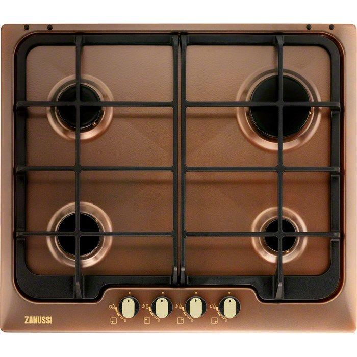 Варочная панель ZANUSSI ZGG566414P,  независимая,  коричневый