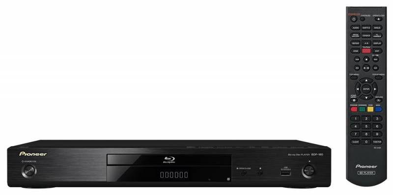 Плеер Blu-ray PIONEER BDP-160, черный