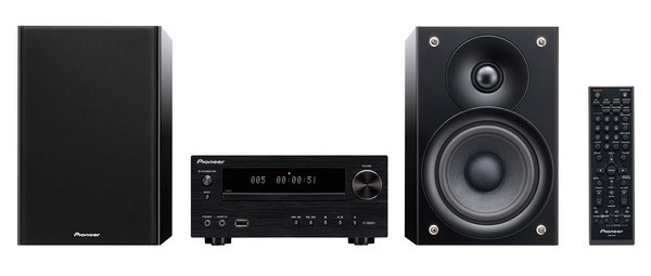 Музыкальный центр PIONEER X-HM51-K,  черный