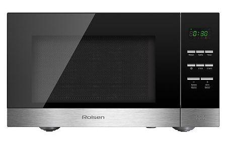 Микроволновая печь ROLSEN MS2380SM, серебристый
