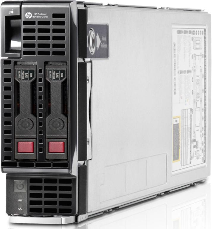 Сервер HP PL BL460c E5-2650v2/32Gb /P220i/3-3-3/Gen 8 (724084-B21)