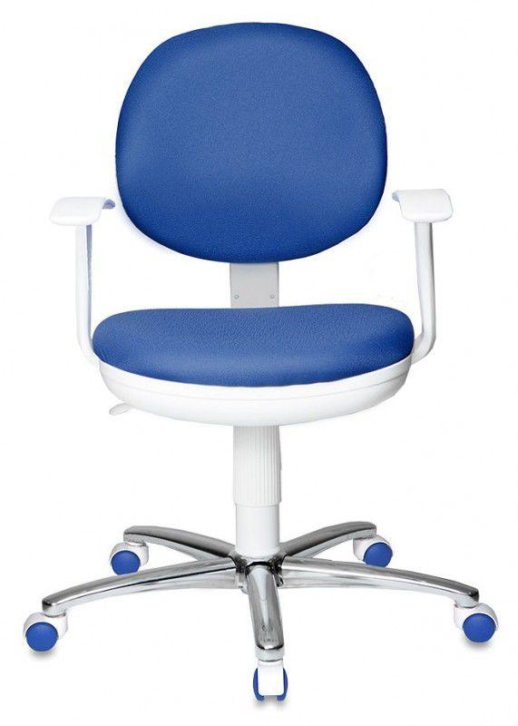 Кресло БЮРОКРАТ CH-W356SL/15-10, на колесиках, синий