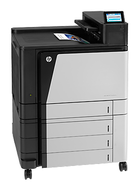 Принтер HP Color LaserJet Enterprise M855xh (A2W78A) лазерный, цвет:  черный