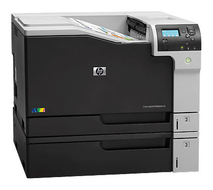 Принтер HP Color LaserJet Enterprise M750n лазерный, цвет: черный [d3l08a] принтер лазерный hp color laserjet enterprise m553x