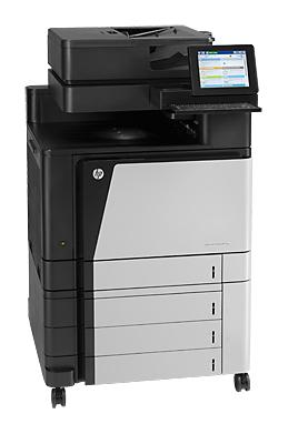 МФУ HP Color LaserJet Enterprise MFP M880z,  A3,  цветной,  лазерный,  черный [a2w75a]