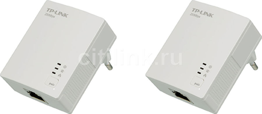 Сетевой адаптер HomePlug AV TP-LINK TL-PA2010KIT Ethernet