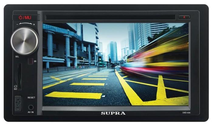 Автомагнитола SUPRA SWD-606,  USB,  SD