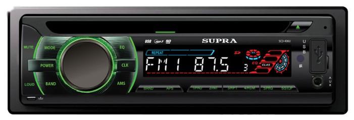 Автомагнитола SUPRA SCD-406U,  USB,  SD