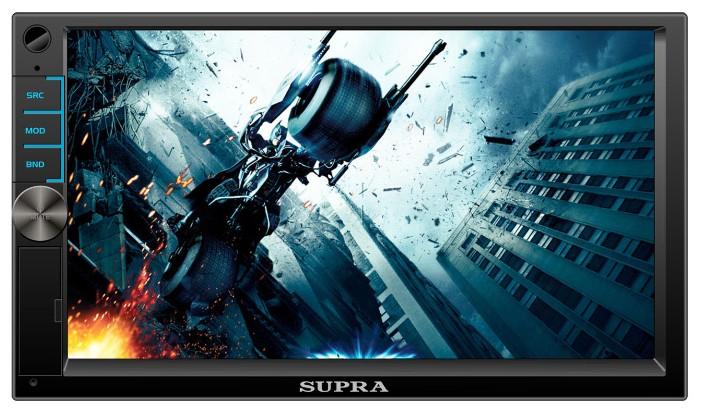 Автомагнитола SUPRA STM-75,  USB,  microSD