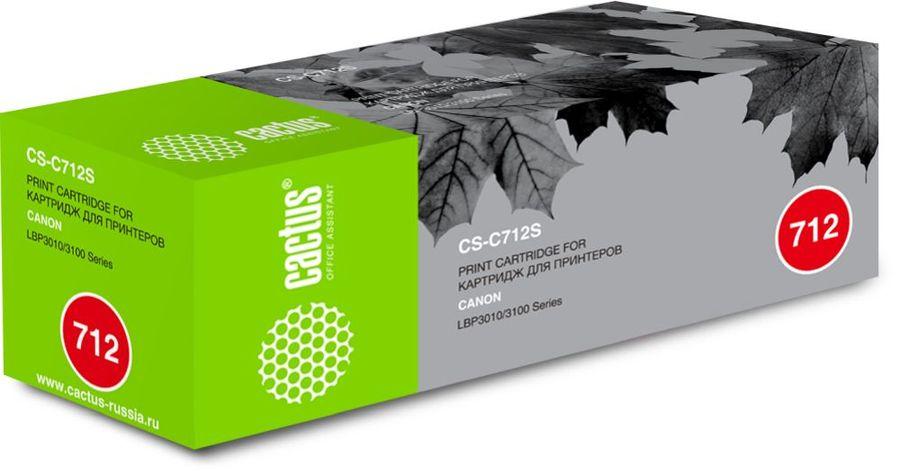 Картридж CACTUS CS-C712S черный