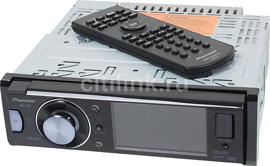 Автомагнитола PIONEER DVH-760AV,  USB