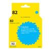 Картридж T2 №82 голубой [ic-h4911] вид 1
