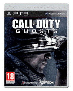 Игра NEW DISC Call of Duty Ghosts. Free Fall Edition для  PlayStation3 Rus