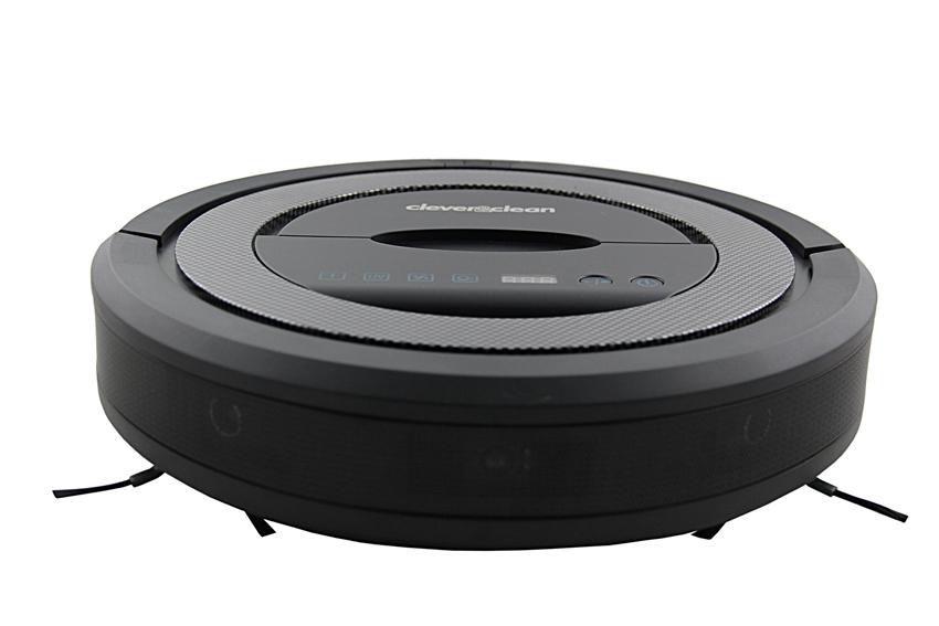 Робот-пылесос CLEVER&CLEAN V-Series 001, 52Вт, черный