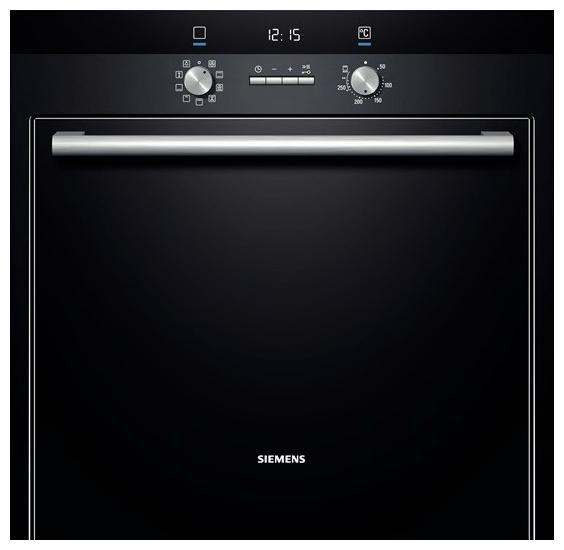 Духовой шкаф SIEMENS HB33GB650R,  черный