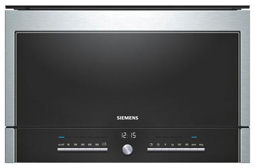Микроволновая Печь Siemens HF25M5L2 21л. 900Вт серебристый (встраиваемая)