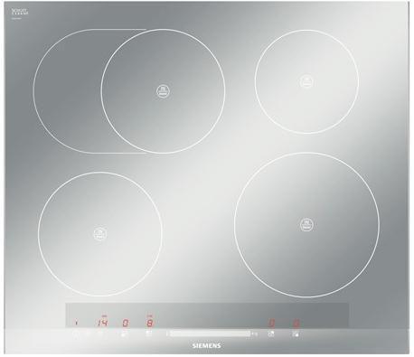 Варочная поверхность SIEMENS EH679MB17E,  индукционная,  независимая,  серый