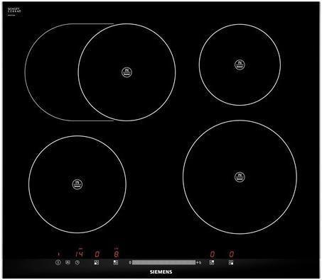 Варочная панель SIEMENS EH675MB17E,  индукционная,  независимая,  черный