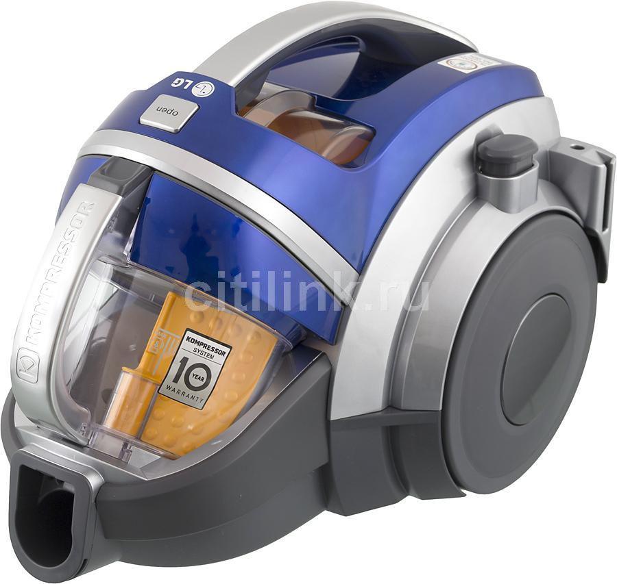 Пылесос LG VK89301HQ, 2000Вт, синий