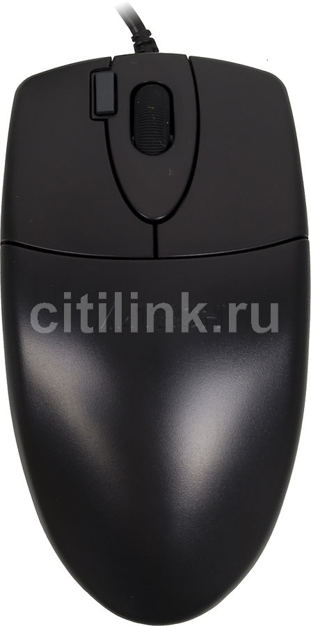 Мышь A4 OP-620D оптическая проводная USB, черный [op-620d black usb]