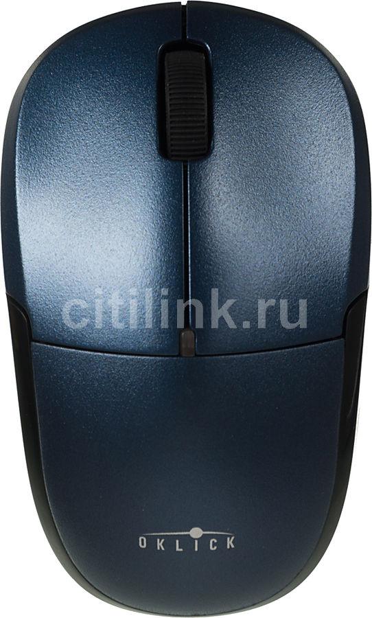 Мышь OKLICK 575SW+ оптическая беспроводная USB, синий