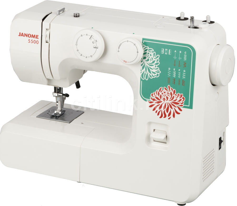 Швейная машина JANOME 5500 белый [5500 white]