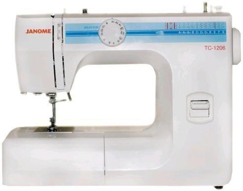 Швейная машина JANOME TC-1206 белый [tc 1206]