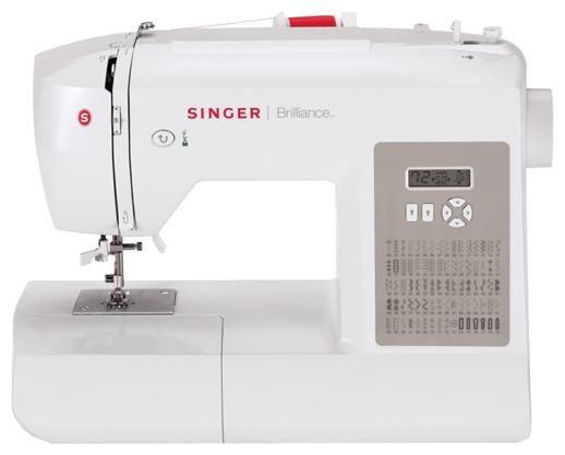 Швейная машина SINGER Brilliance 6180 белый