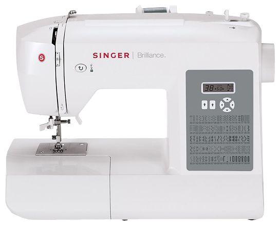 Швейная машина SINGER Brilliance 6199 белый
