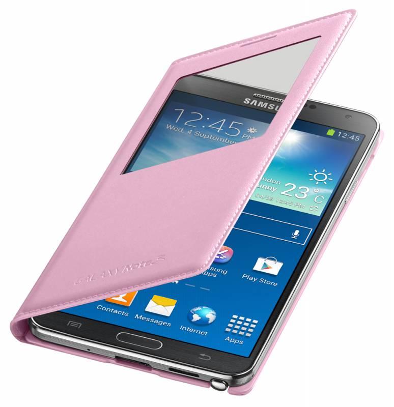 Чехол (клип-кейс) SAMSUNG EF-CN900BIE, для Samsung Galaxy Note 3, розовый [ef-cn900biegru]