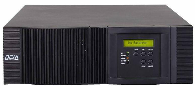 Источник бесперебойного питания POWERCOM Vanguard RM VRT-10K,  10000ВA