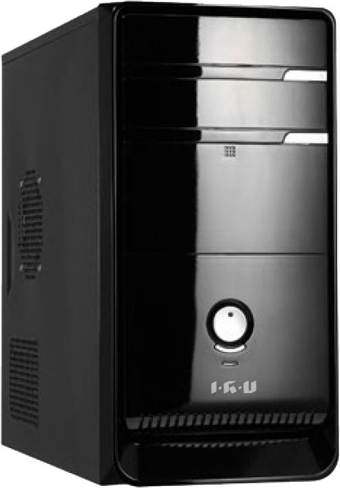 Компьютер  IRU Corp 510,  Intel  Core i5  2400,  DDR3 8Гб, 500Гб,  nVIDIA GeForce G210 - 1024 Мб,  DVD-RW,  noOS,  черный