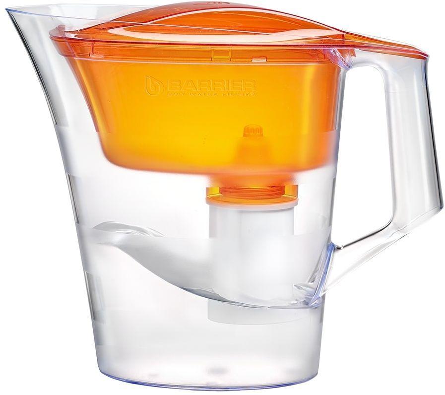 Фильтр для воды БАРЬЕР Твист,  оранжевый,  4л [4601302501006]