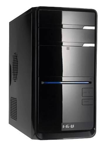 Компьютер  IRU Corp 320,  AMD  Athlon II X2  250,  DDR3 1Гб, 500Гб,  AMD Radeon HD 3000,  DVD-RW,  CR,  Windows 8,  черный