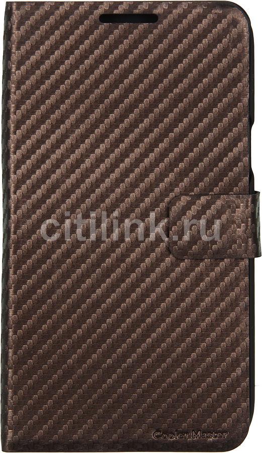 Чехол (флип-кейс) COOLER MASTER Traveler N2U-100, для Samsung Note II, темно-коричневый [c-ss2f-ctn2-cc]