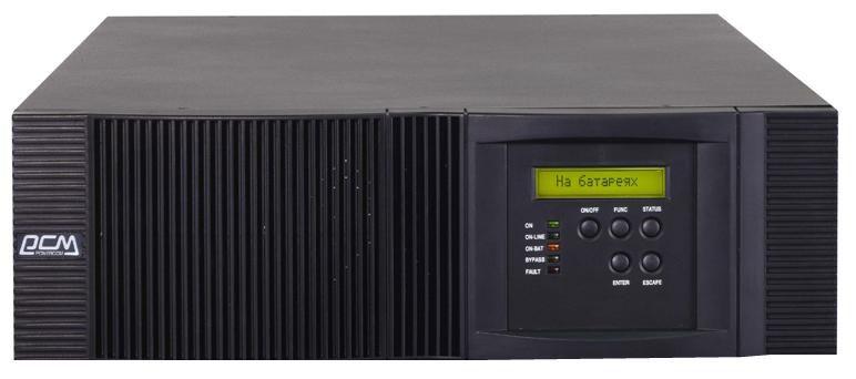 Источник бесперебойного питания POWERCOM Vanguard RM VRT-6000 w/o Bat,  6000ВA