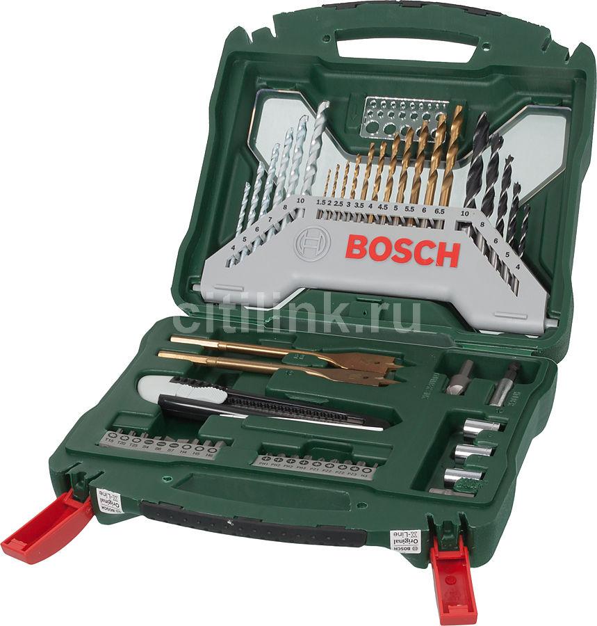 Набор принадлежностей BOSCH X-Line-50,  50 предметов [2607019327]