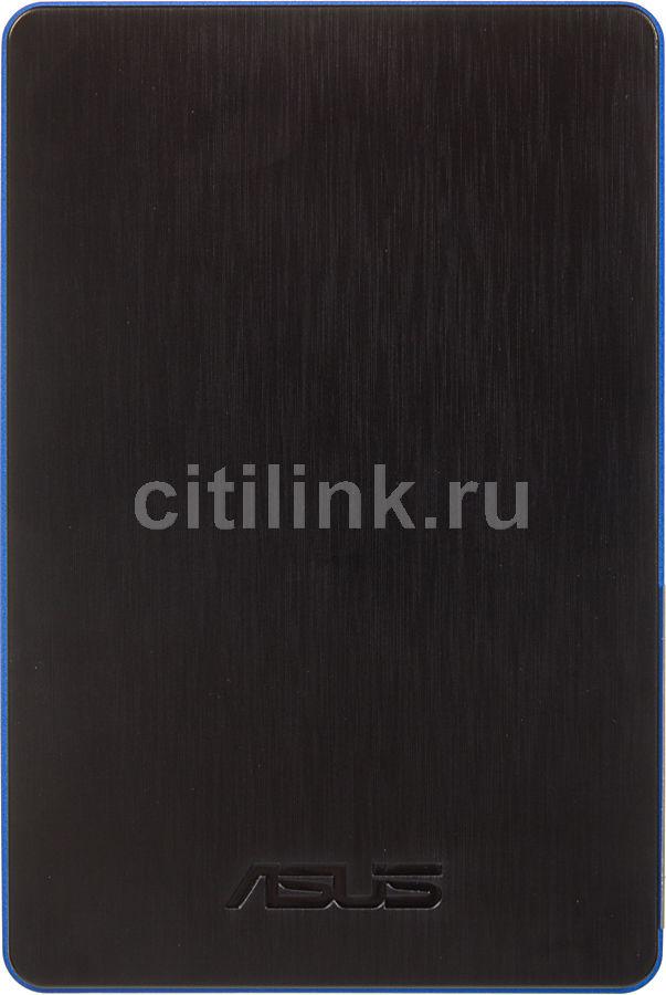 Внешний жесткий диск ASUS FlexSlim PF301, 500Гб, синий [90xb00l0-bhd020]