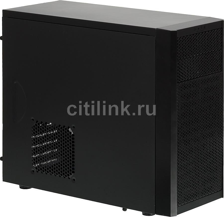 Корпус mATX FRACTAL DESIGN Core 1000, Mini-Tower, без БП,  черный